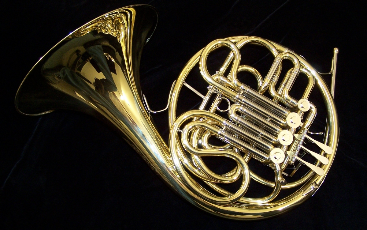 New C.G. Conn 6D Double French Horn