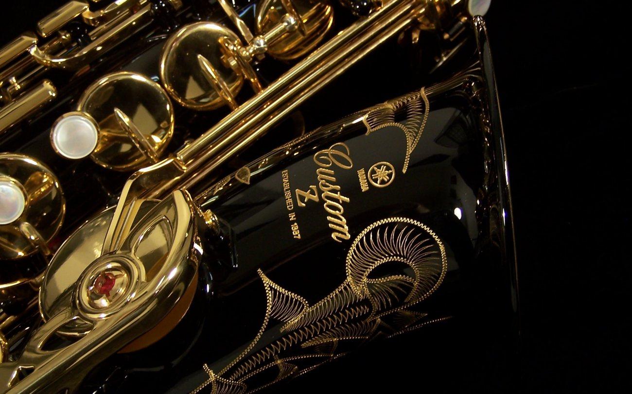 Yamaha Custom Z Alto Saxophone Black Lacquer