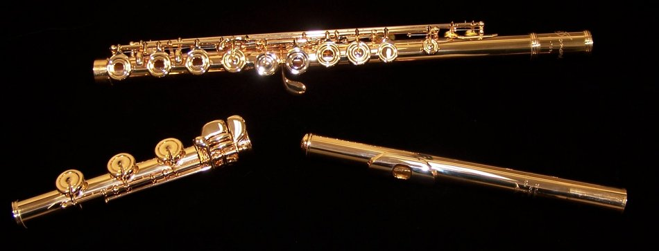 Gold Plated Flute