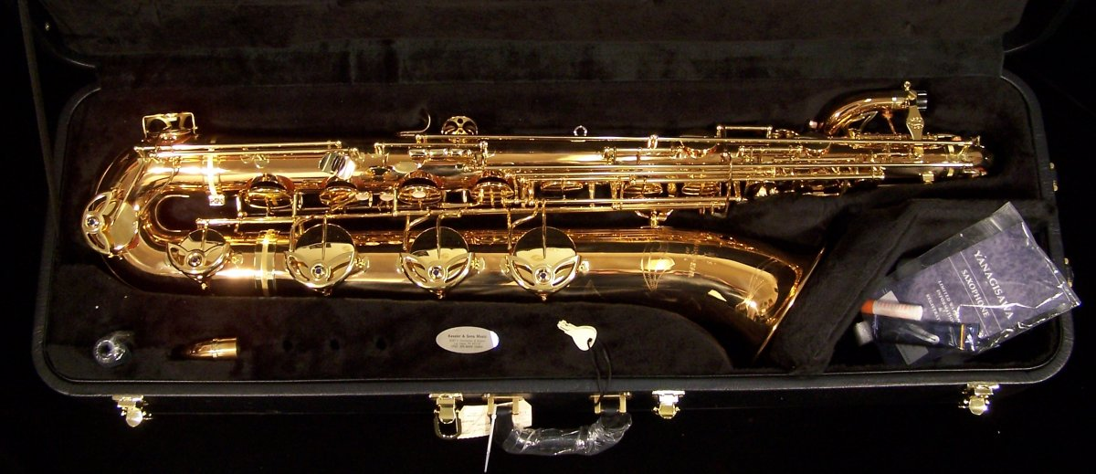 Yanagisawa B902 Professional Bronze Low A Baritone Saxophone